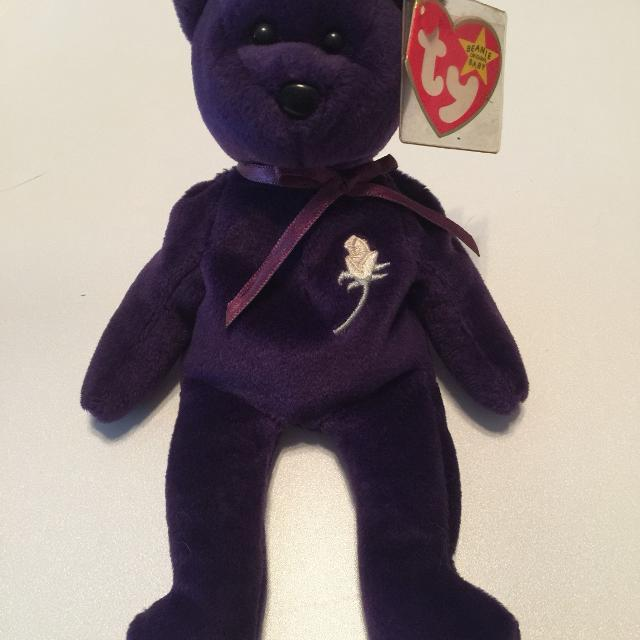 """c05e6fd9052 Find more """"princess"""" Beanie Baby. 1997. With Tag Protector. Euc. 50 ..."""