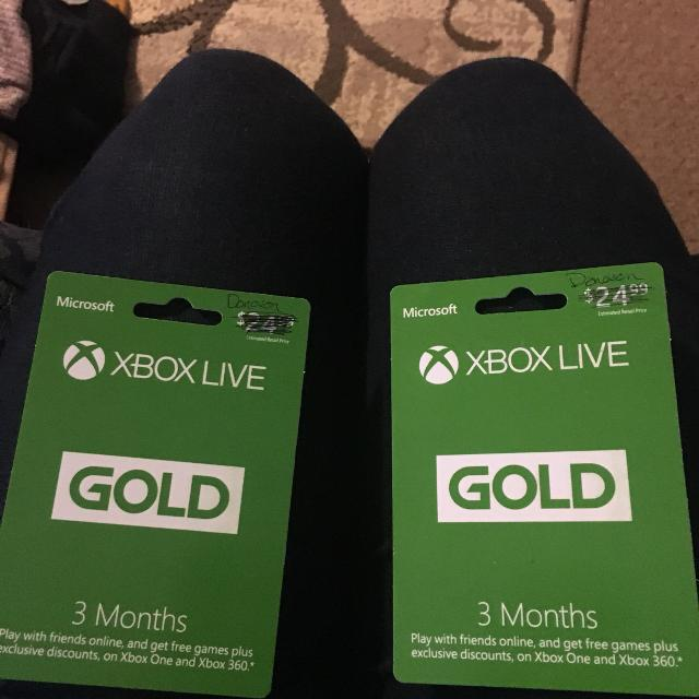 3 months of XBOX LIVE for only $20!!