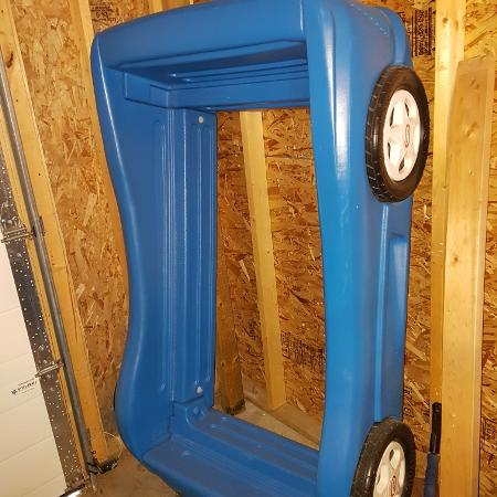 Toddler race car bed frame for sale  Canada