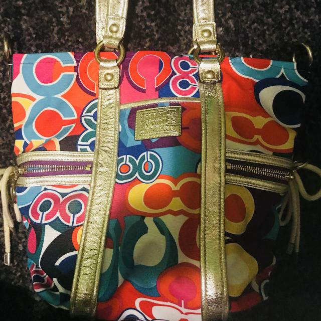 50 00 Also From The Poppy Collection For Coach Bags This One Is So Colour Full