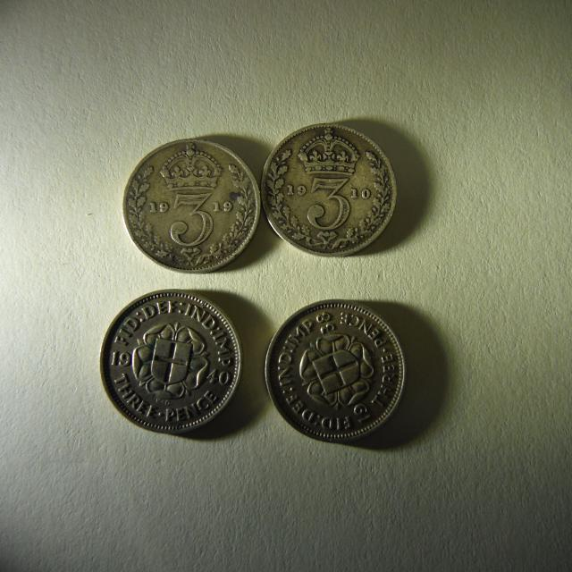 British coins - from 1910 - 2005