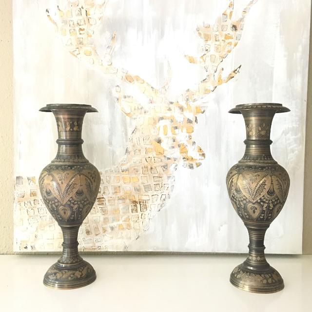 Best Vintage Brass Vases For Sale In Ladner British Columbia For 2018