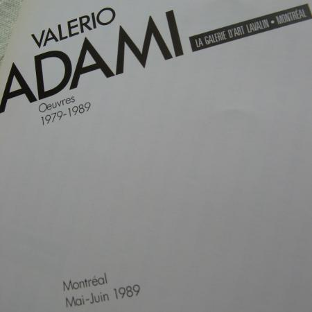 Italian Artist Valerio ADAMI..., used for sale  Canada