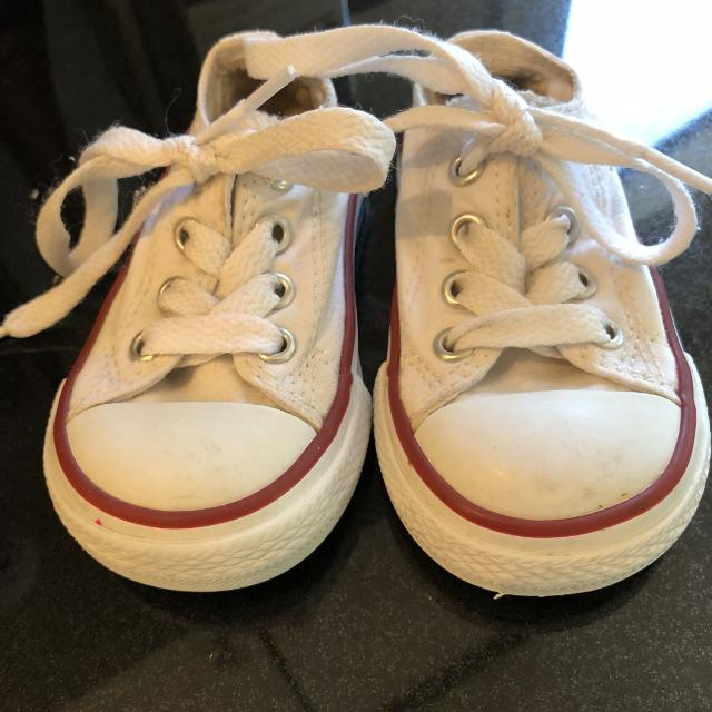 5aa9485fd35 Best Toddler Converse Size 4 for sale in Ladner