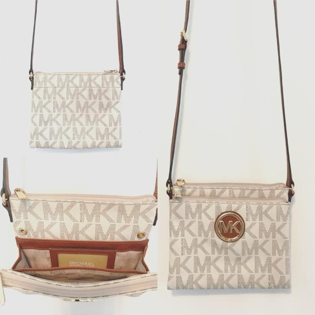 86cfab4fea3e Find more Michael Kors White Small Side Purse for sale at up to 90% off