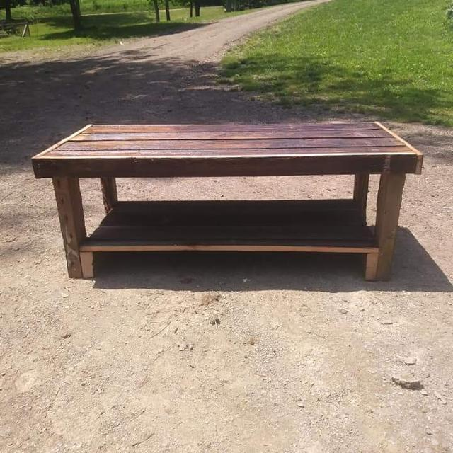 Best Rustic Barnwood Coffee Table For Sale In Bedford County