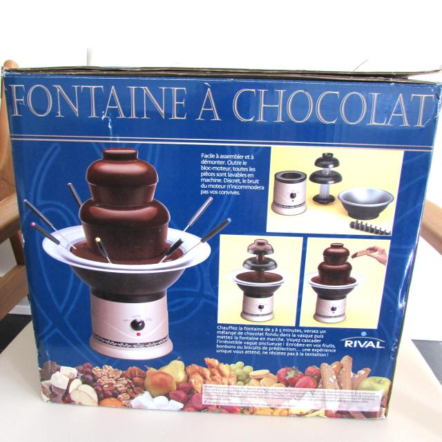 Best Prix Rvis Neuf New Rival Fontaine Chocolat Rival