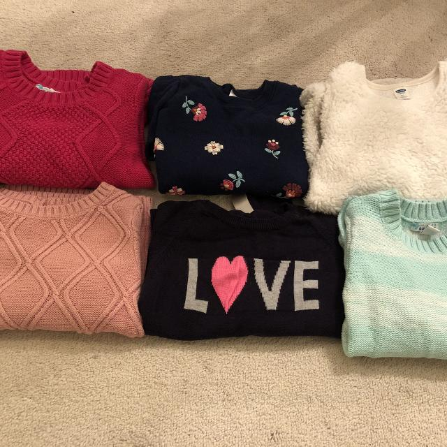 Find More Euc Girls Sweaters Lot Brands Are Old Navy Gap Carters