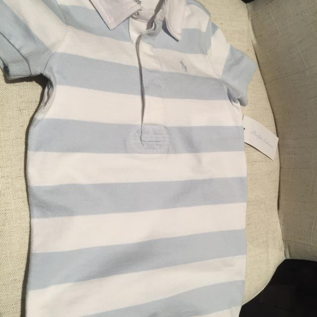 bdb4513885ad Find more Bnwt Ralph Lauren Striped Cotton Rugby Shortall for sale ...