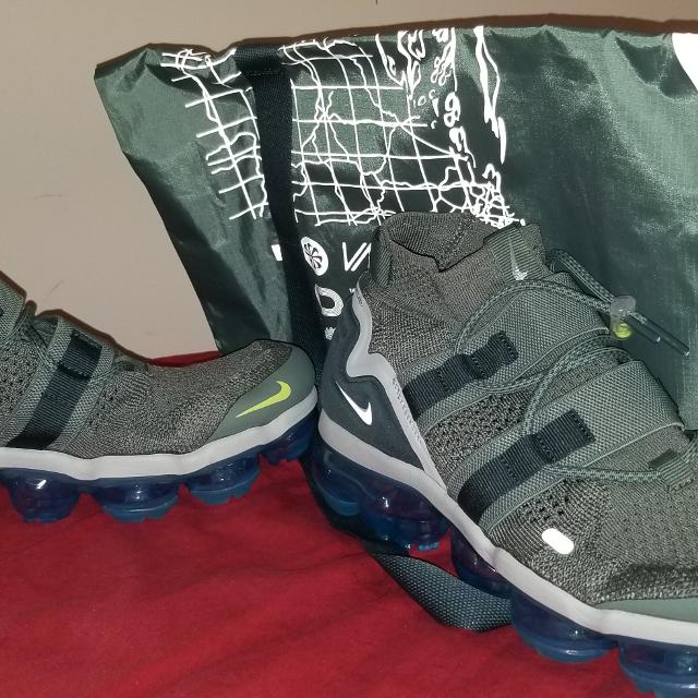 6467082d9b0ac Best Nike Air Vapormax Flyknit 2 Clay Green faded Spruce With Bag for sale  in Nashville