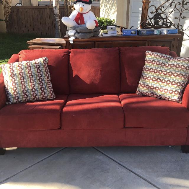 find more red pull out sofa bed full sized mattress for sale at up