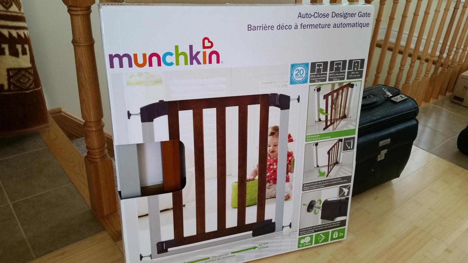 Find More Munchkin Auto Close Designer Gate For Sale At Up To 90 Off