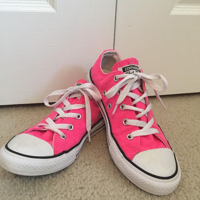 Find more Neon Pink Converse - Size 2 for sale at up to 90% off 412a2f74f
