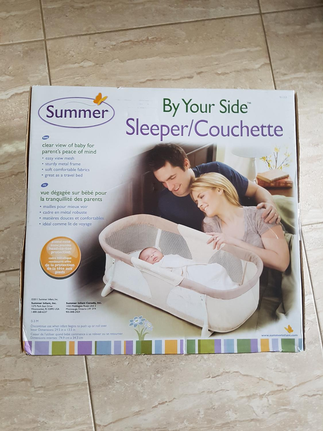 e367d7841 Find more Bnib Summer Infant By Your Side Sleeper for sale at up to ...