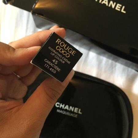 Chanel lipstick and makeup bag authentic for sale  Canada