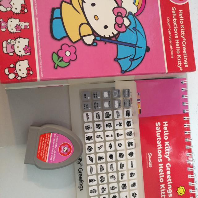 Best hello kitty cricut cartridge for sale in calgary alberta for 2018 hello kitty cricut cartridge m4hsunfo