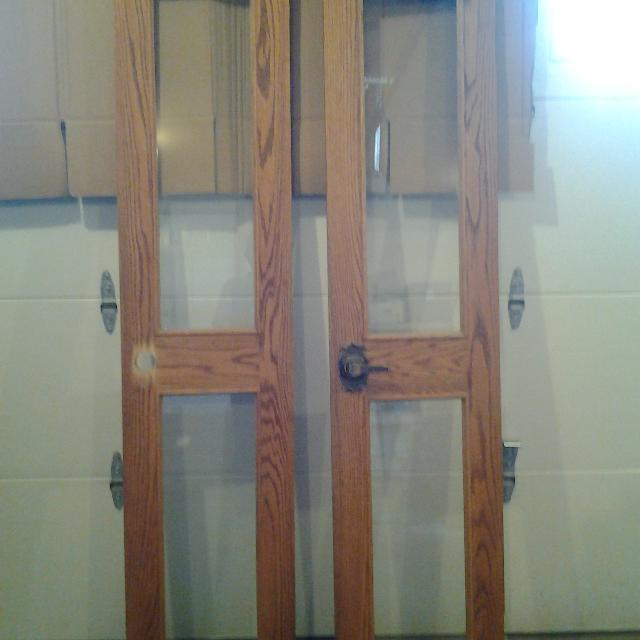 Best 2 Doors With Glass Panes For Sale In Airdrie Alberta For 2018