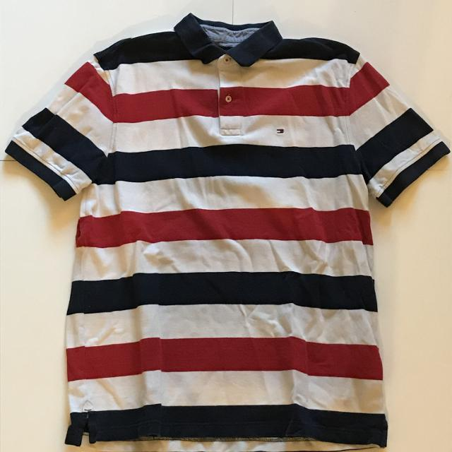 534c9782757d5 Find more Tommy Hilfiger Blue red.white Striped Polo Shirt for sale ...