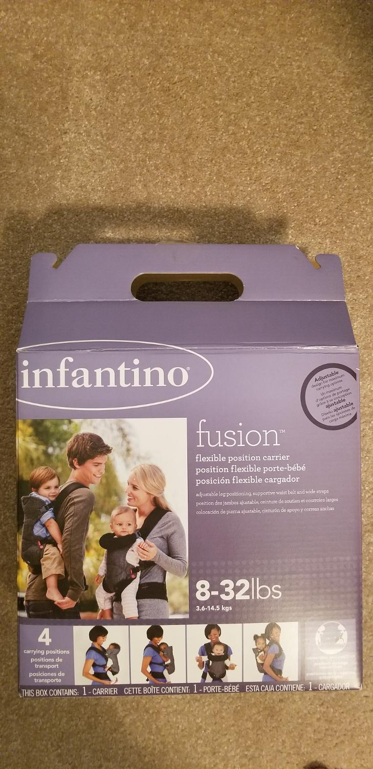 Infantino Fusion Flexible Position Baby Carrier Grey