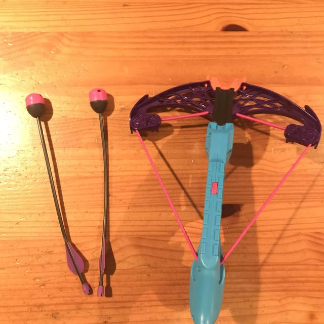 Nerf Crossbow and Arrows