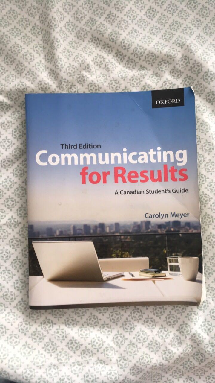 Best Communicating For Results Textbook for sale in Ladner, British  Columbia for 2018