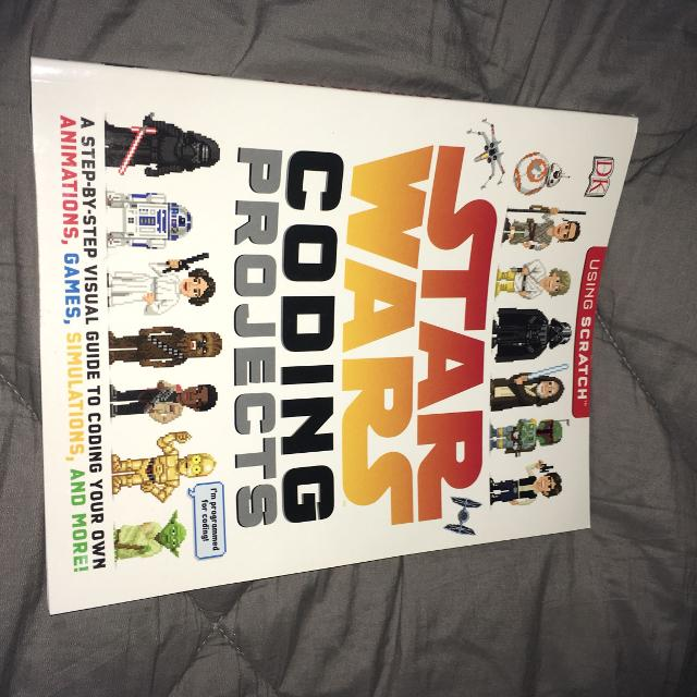 Kids Star Wars coding book