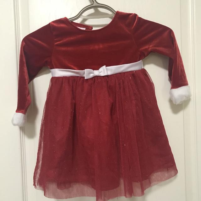 size 24 month christmas dress