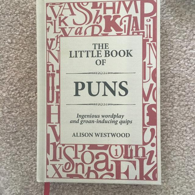 Pun book (alison westwood collection)