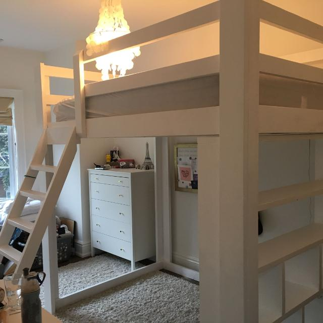 Custom Built Loft Bunk Beds
