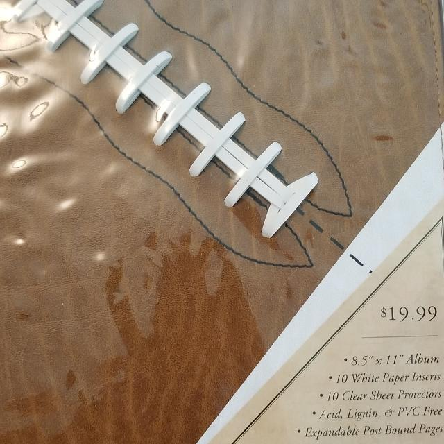 Best Football Scrapbook Album 15 For All For Sale In Morton