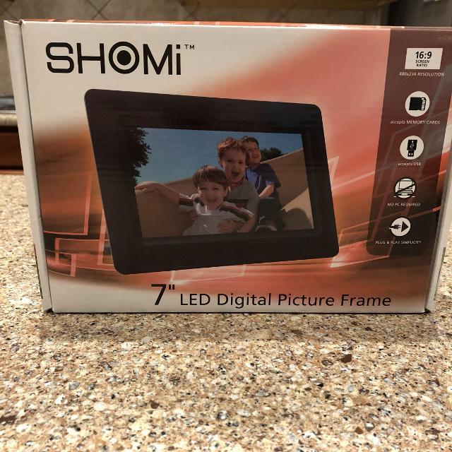 Best Shomi 7 Led Digital Picture Frame For Sale In Brazoria County