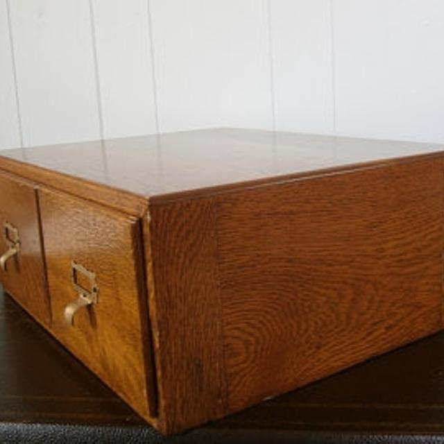 Best Beautiful Vintage 1930s Oak Library Card Catalog For Sale In