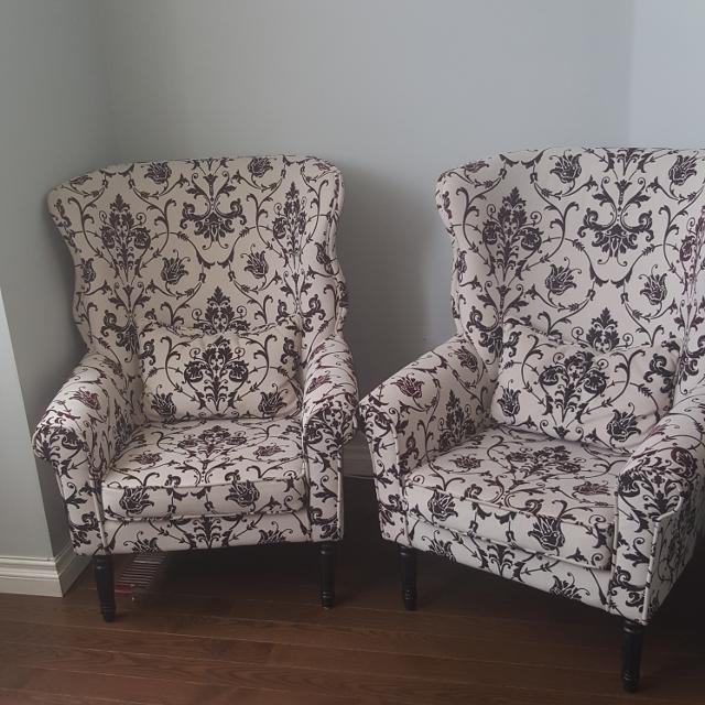 Accent Chairs Sold In Pairs.Fabric Accent Chairs From Wayfair Com I Can Split The Pair