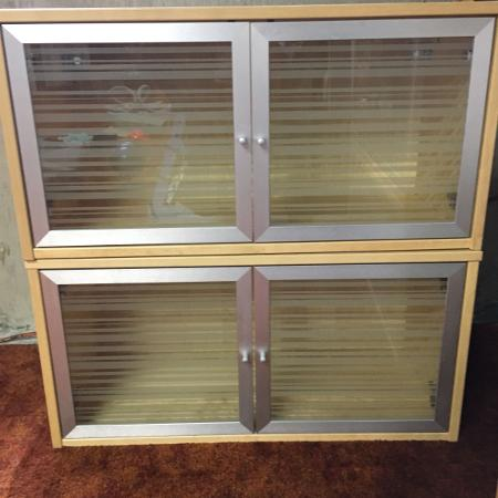Used, Birch IKEA wall hanging cabinets for sale  Canada