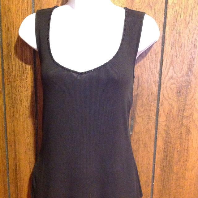 08b81baa7d4 Find more Ann Taylor Ribbed Tank Top Size Medium for sale at up to ...