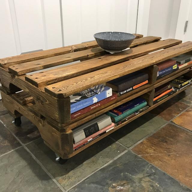 Best Handmade Reclaimed Wood Pallet Coffee Table For Sale In Kelowna