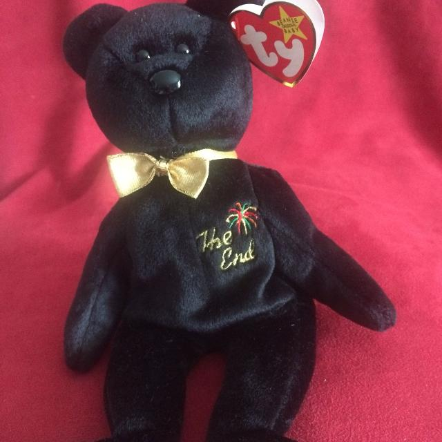 d1f2fcde04c Best Ty Beanie Baby The End Bear for sale in Hendersonville ...