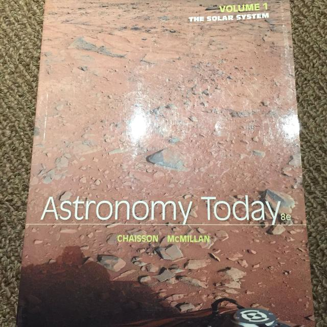 astronomy today volume 1 the solar system 8th edition
