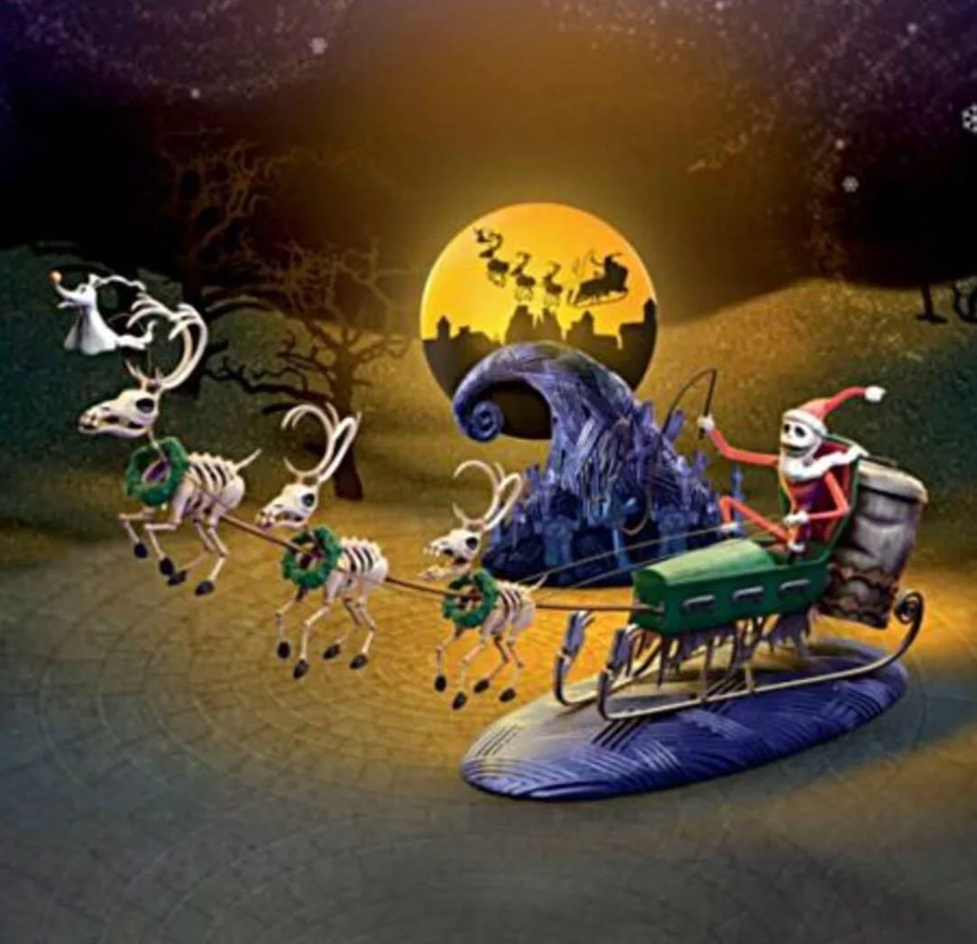 Best Nightmare Before Christmas 20th Anniversary Le Jack Sleigh for ...