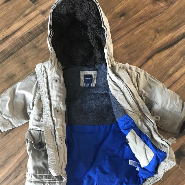 0f187861e641 Find more Baby Gap Winter Jacket (12-18m) for sale at up to 90% off