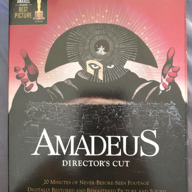 f0b48995cf388 Find more Amadeus Director's Cut. 2-disc Special Edition. Dvd. for ...