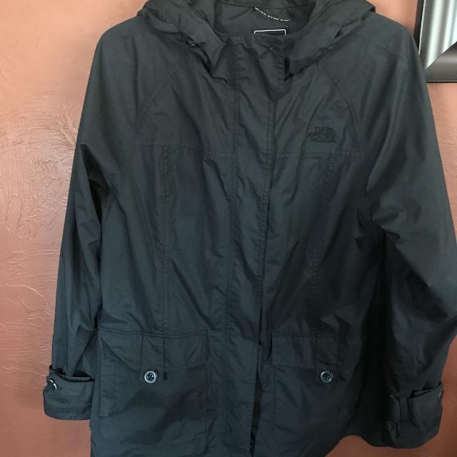 88d609ccc North Face rain jacket