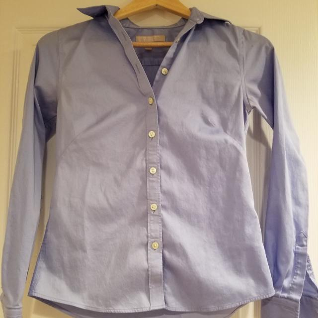 c90929be Best Banana Republic Blue Button Down - Size 0 Petite for sale in  Vancouver, British Columbia for 2019