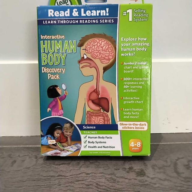 Find More Leap Frog Interactive Book Human Body For Sale At Up To 90