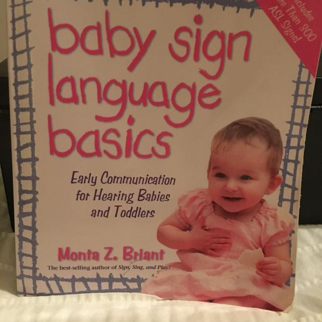 Best Baby Sign Language Book For Sale In Dollard Des Ormeaux Quebec