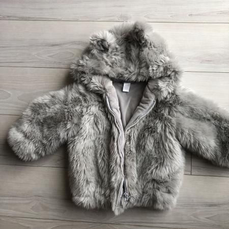 RH baby and child fuzzy bear hooded... for sale  Canada