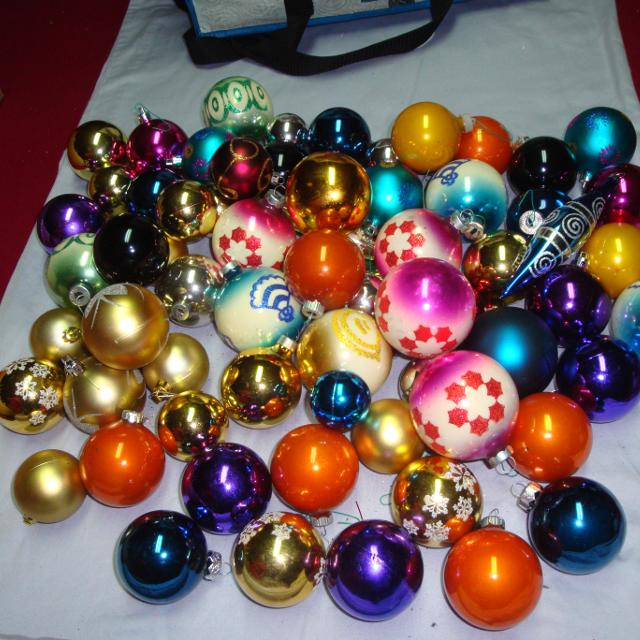vintage christmas balls collection - Vintage Christmas Ornaments For Sale