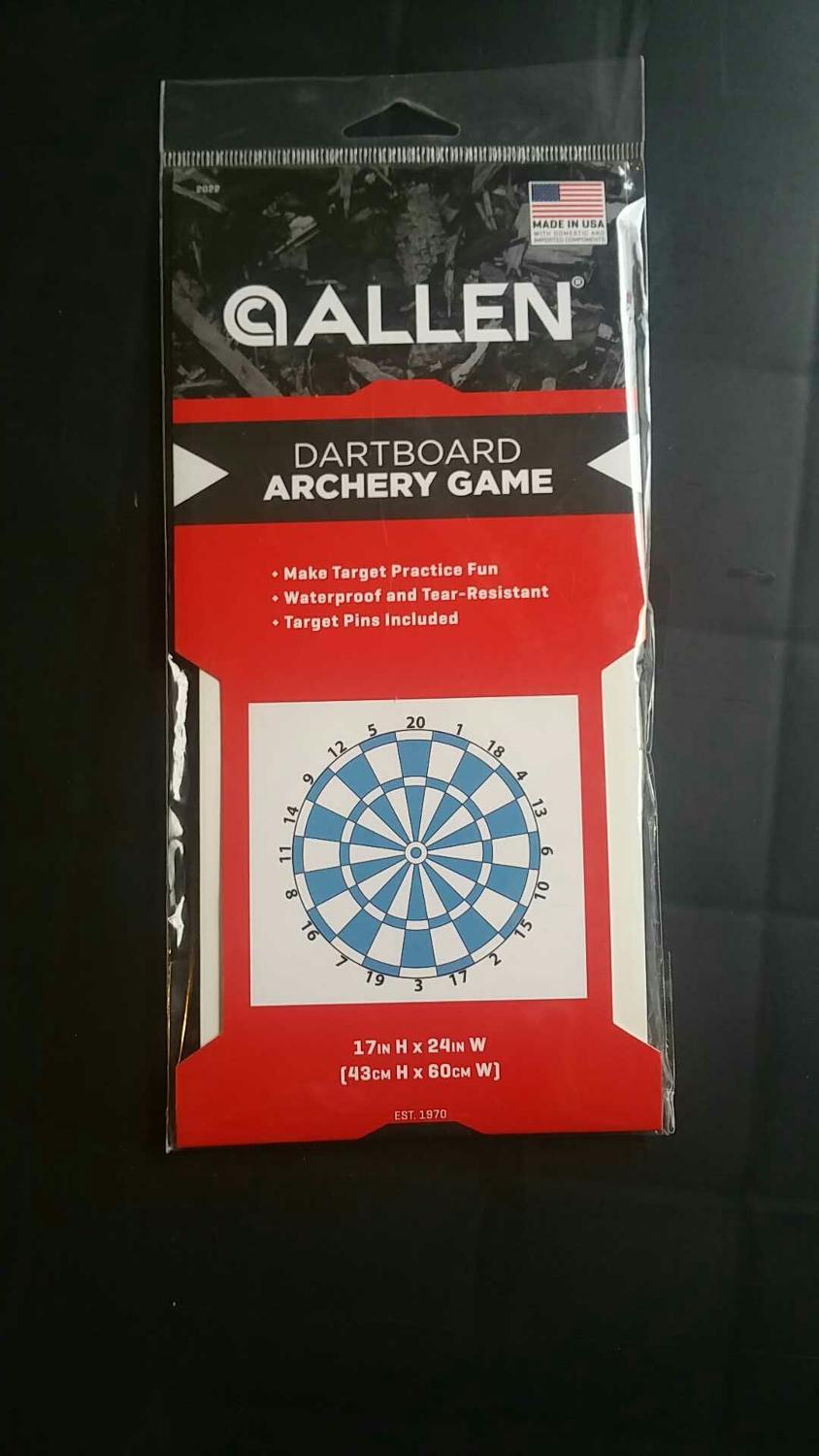 Brand new archery target game