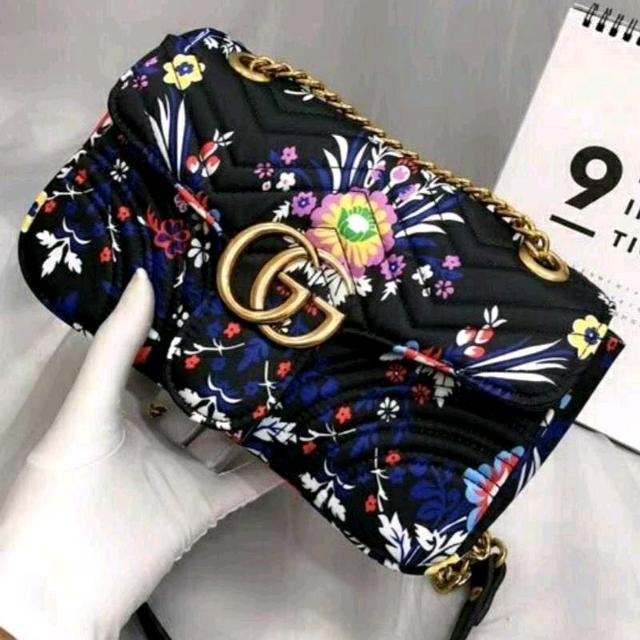 cd5b7c91b1c91b Best Gucci Marmont Floral Jaquard Bag for sale in Mansfield for 2019