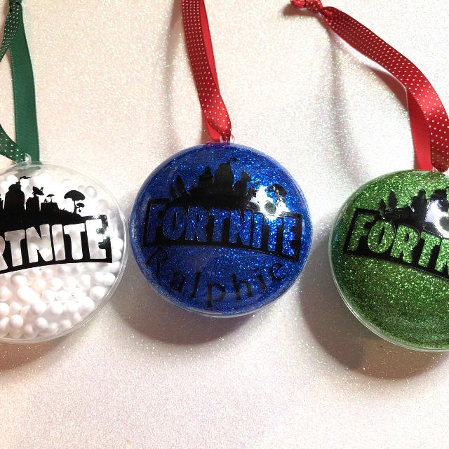 Best Personalised Fortnite Tree Decorations For Sale In Basingstoke